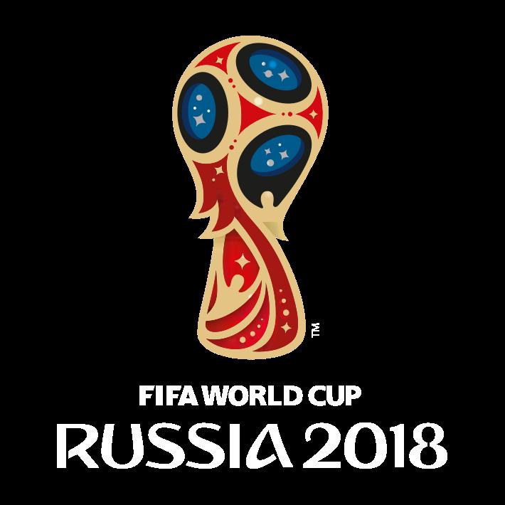 Logo for Fotball-VM 2018